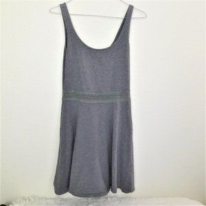 Abercrombie & Fitch Dresses - Cotton gray skater dress by Abercrombie & Fitch M